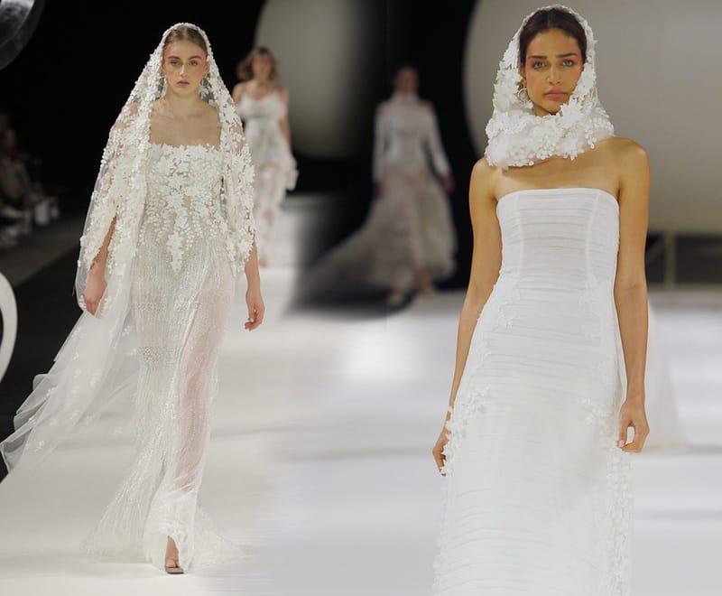 показ свадебных платьев
