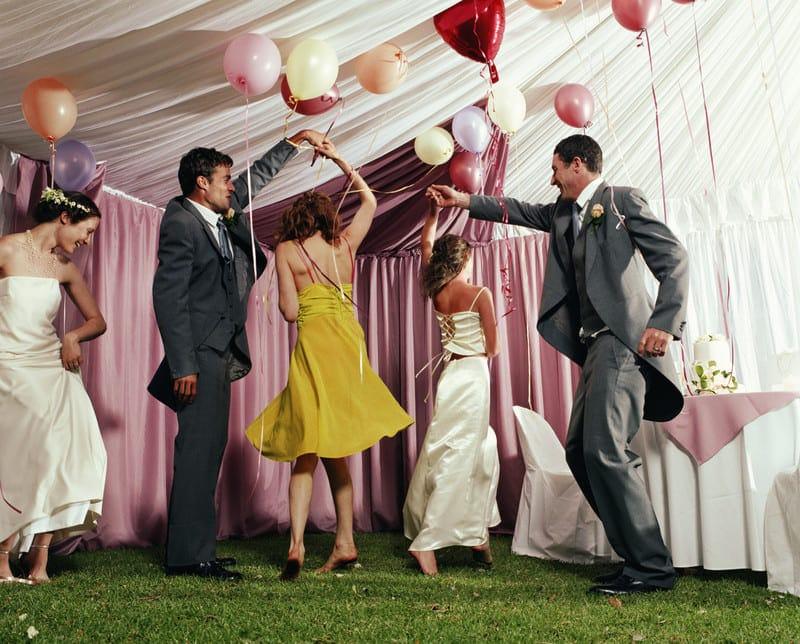 свидетели на свадьбе