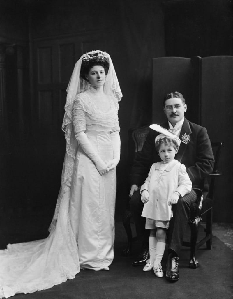 свадебные платья 10-х годов 20 века