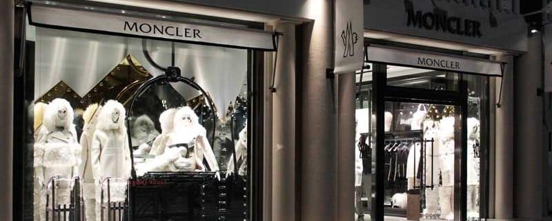 Moncler модная одежда