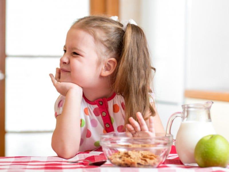 отсутствие апетита у детей