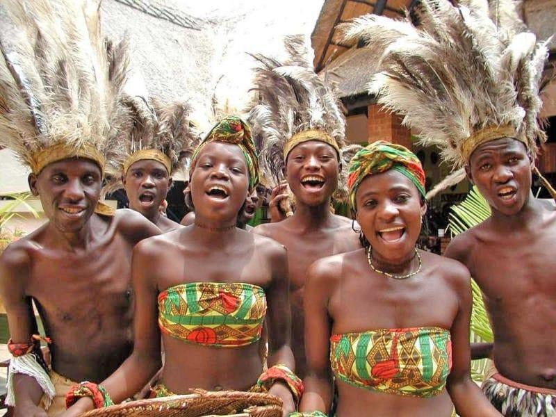 свадебные традиции Африки