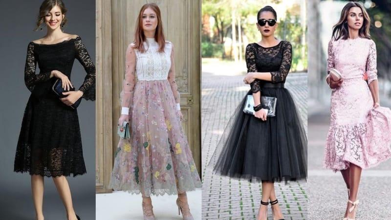 коктейльные платья мода и стиль