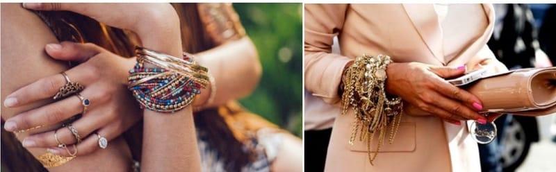 мода на женские браслеты