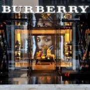 брендовый магащин Burberry