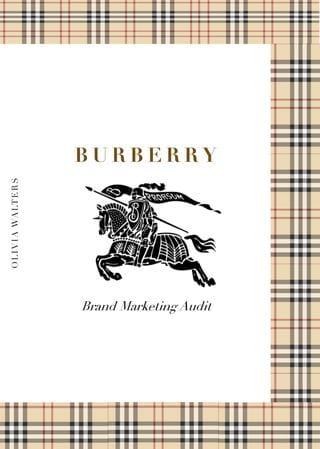 Burberry логотип