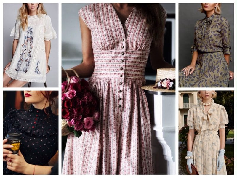 платья в ретро стиле