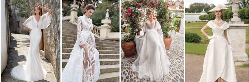 свадебные платья ретро